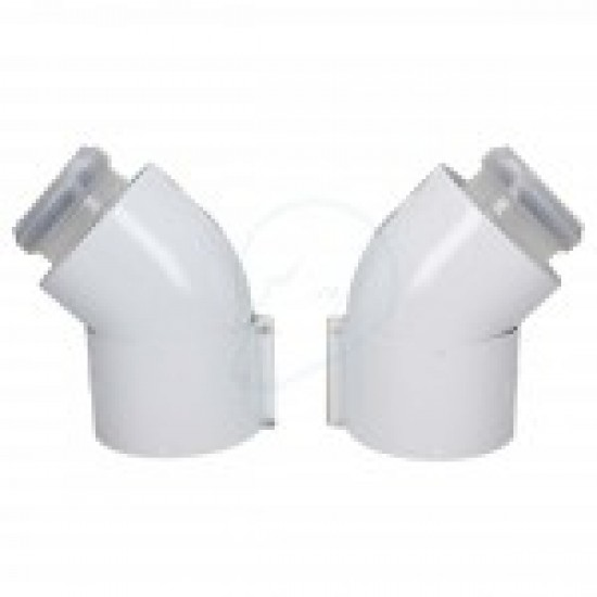 Vaillant 45 Degree Flue Bends (Pack Of 2) 303911