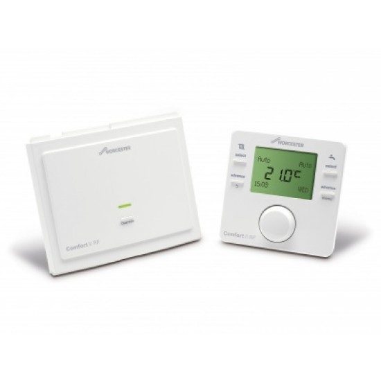 Worcester Comfort II RF Twin Channel Programmable Thermosta 7733600002