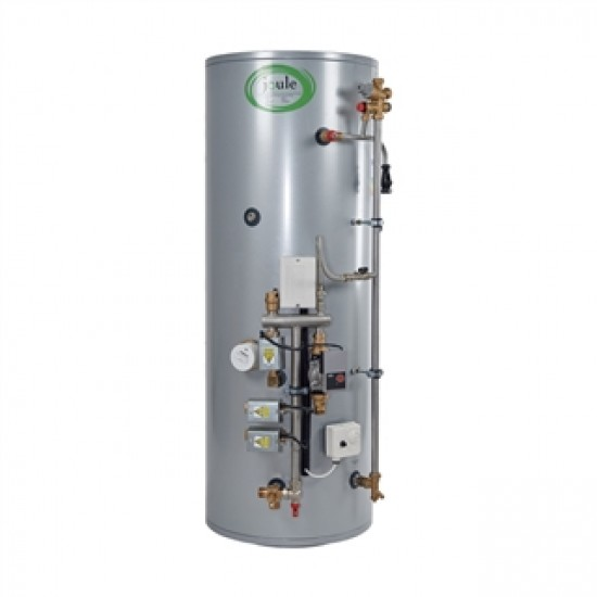 Joule 150L SC  Pre-Plumbed Indirect 3 Zone Unvented Cylinder for Heat Only Boiler TUMI-H0150-L3B